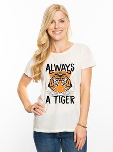 The Always a Tiger Distressed Tee