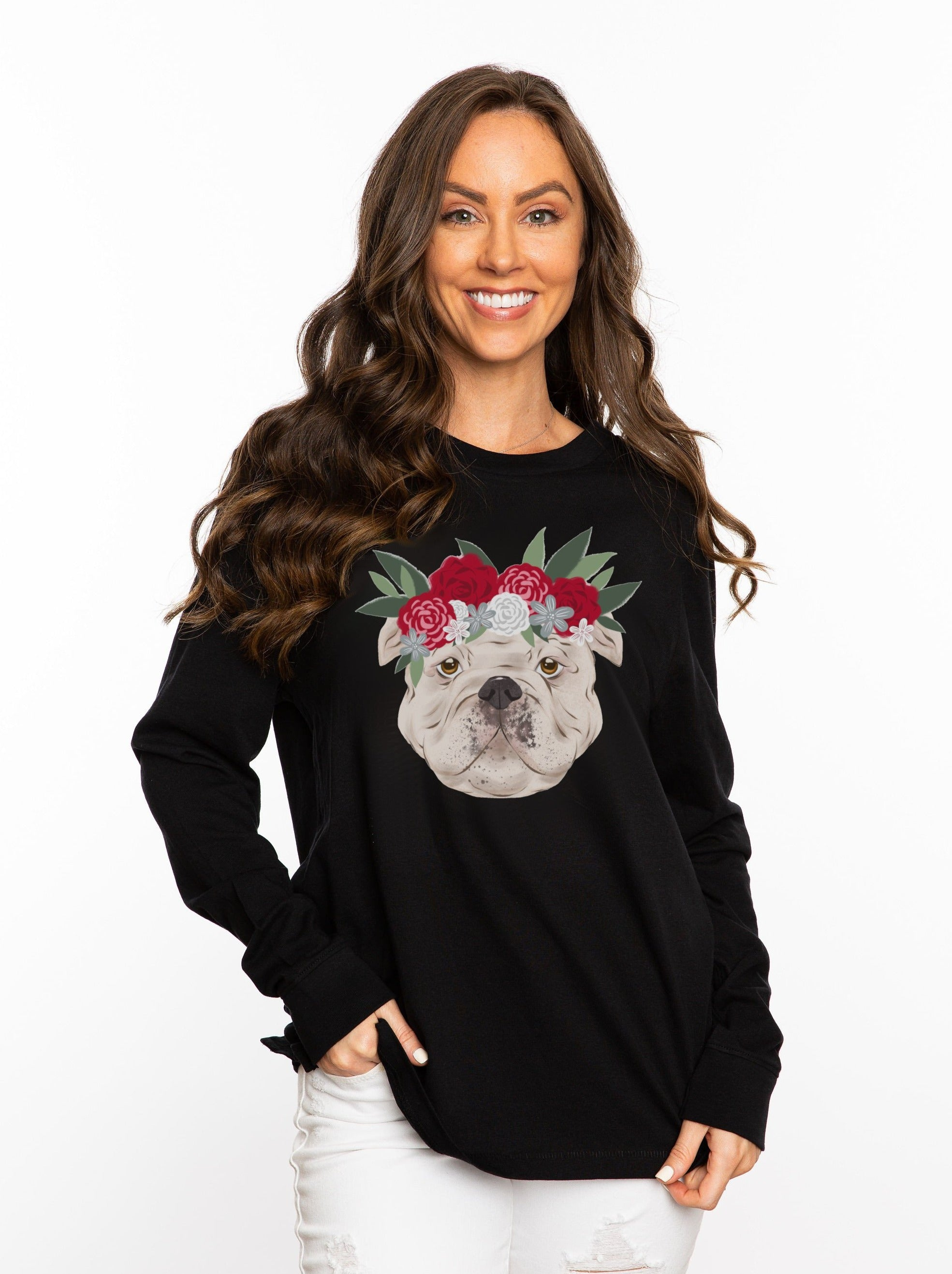 The Bulldog Crown Long Sleeve