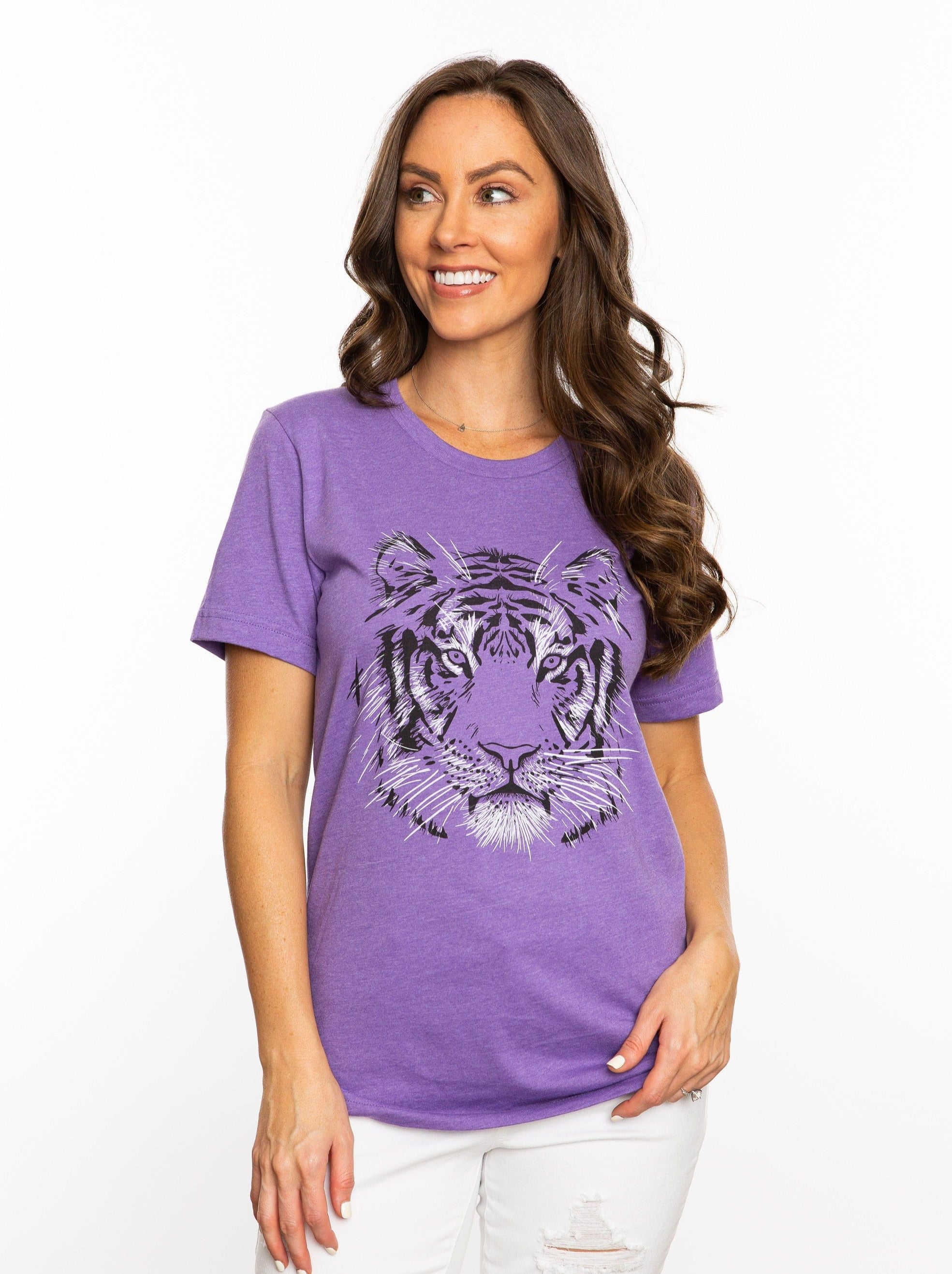 The Tiger Face Crew | Purple