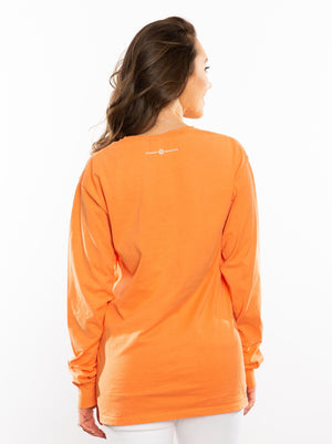 The Go Tigers Garment Washed Long Sleeve
