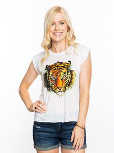 The Watercolor Tiger | Muscle Tee