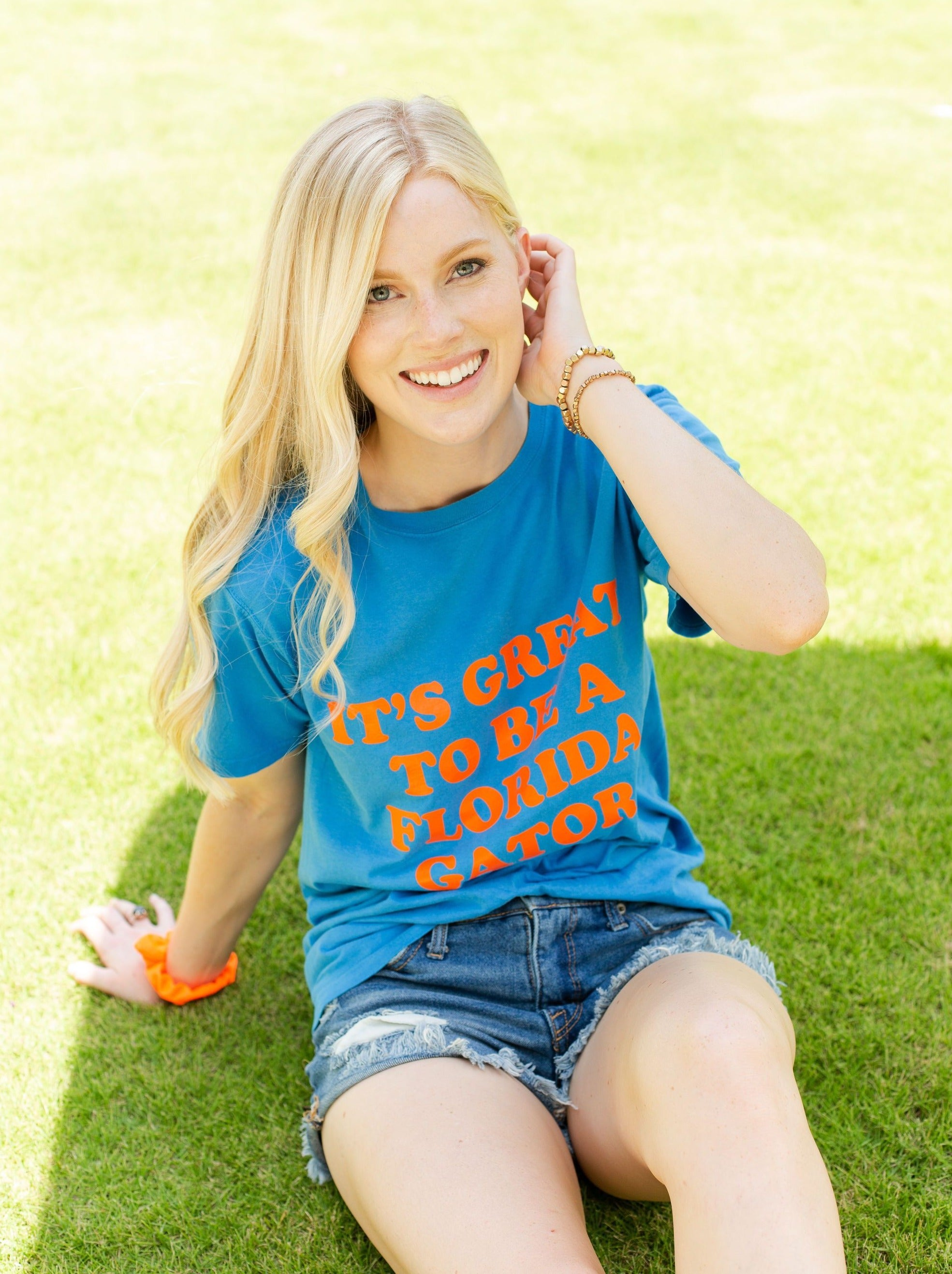 The Florida Gators Dyed Tee