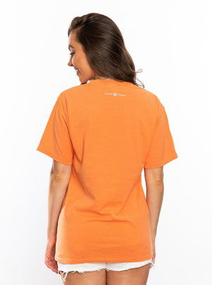 The Always a Tiger Dyed Tee | Orange