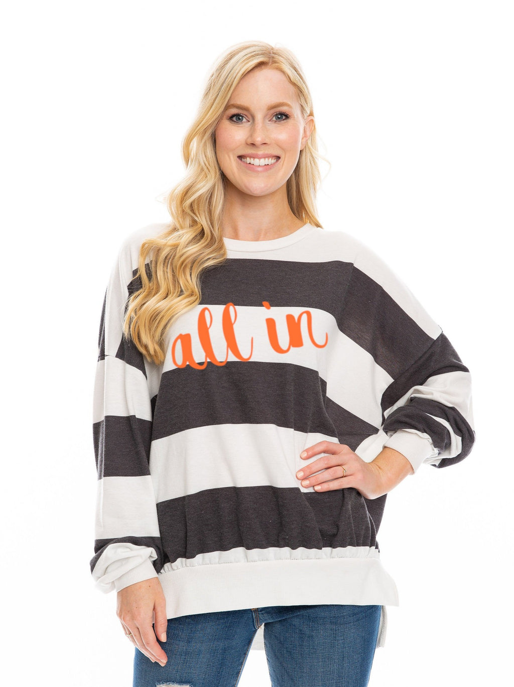 The All In Oversized Long Sleeve