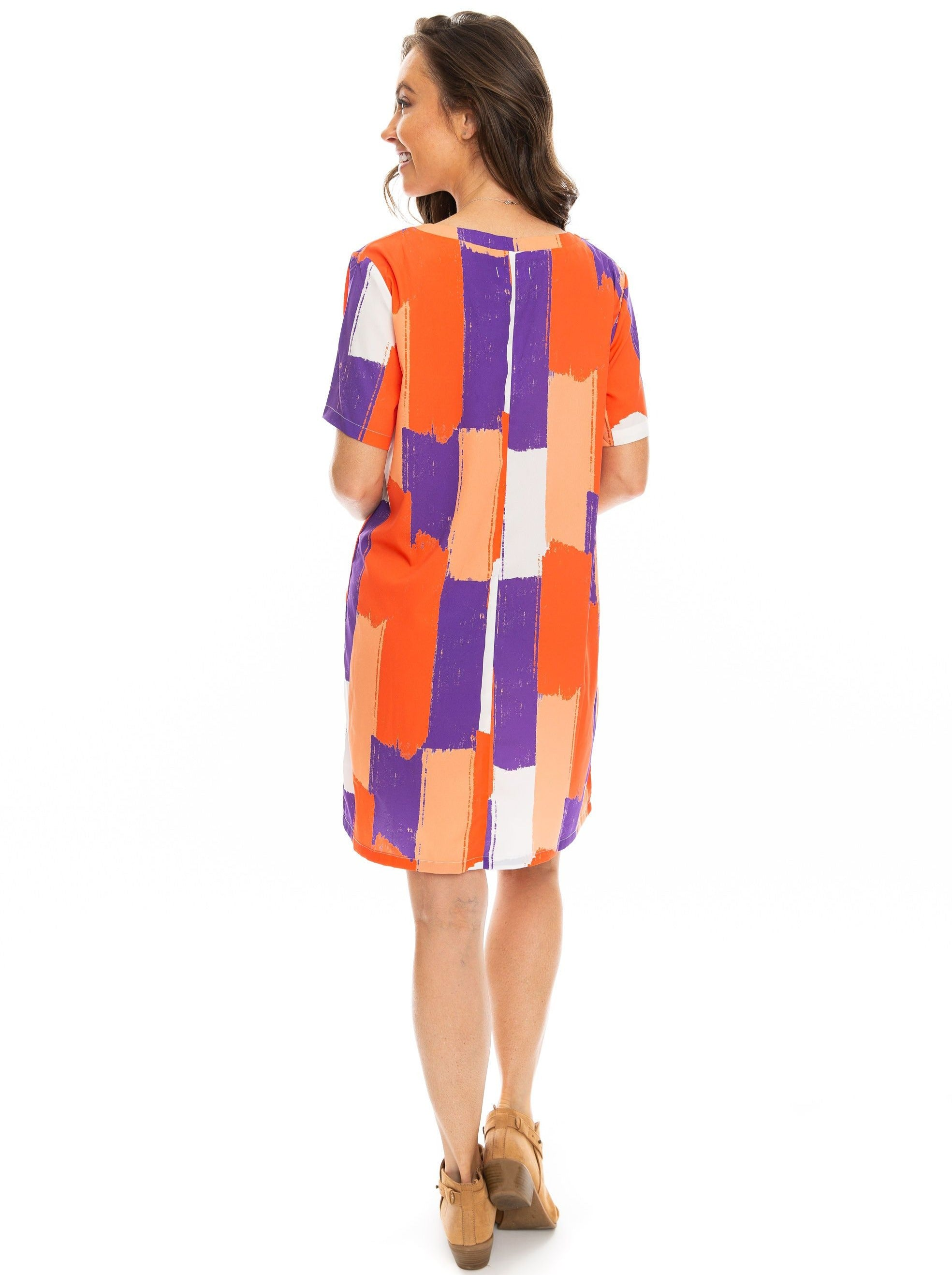 The Brush Stripes Dress