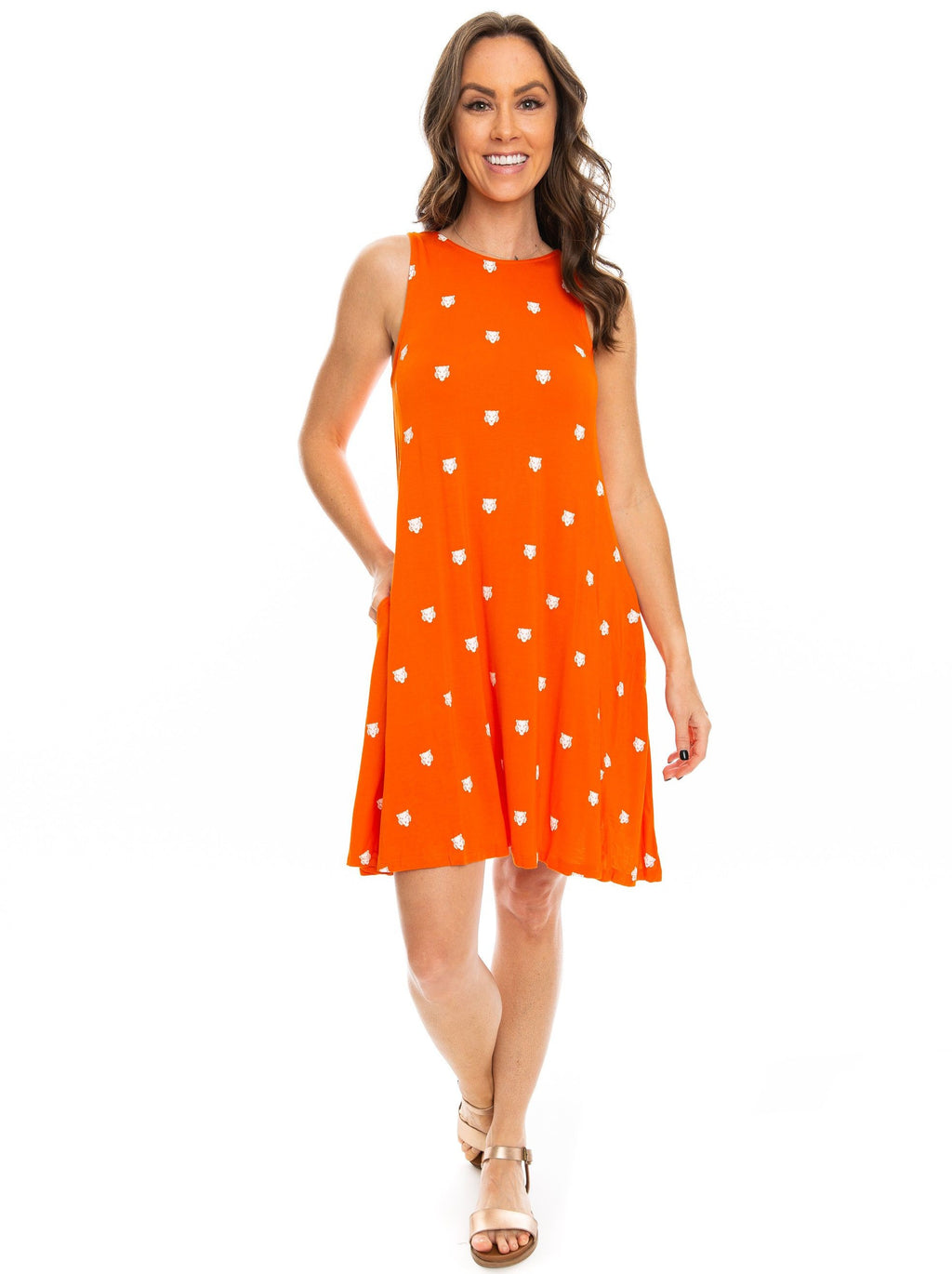 The Tiger Swing Dress