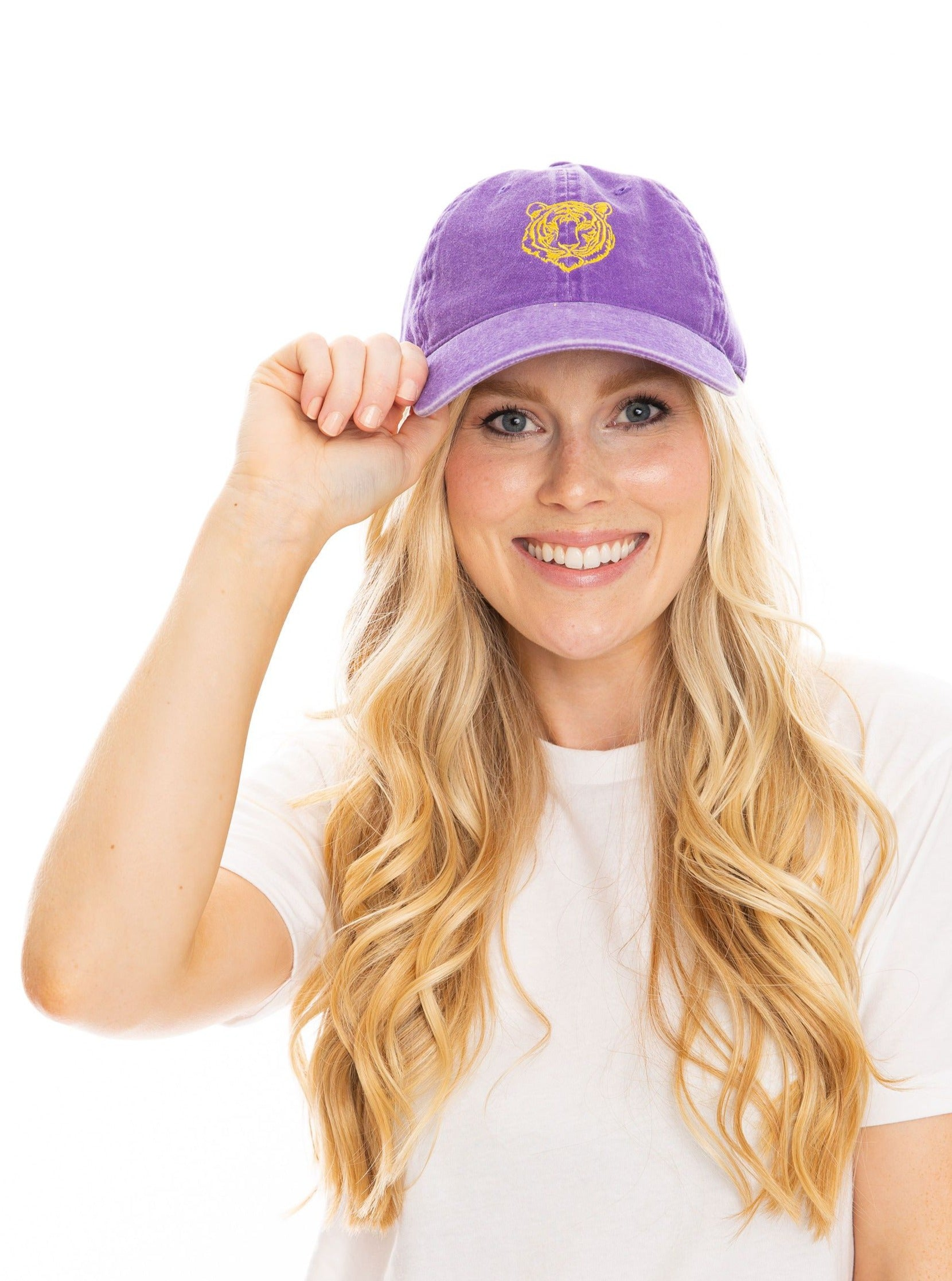 The Tiger Hat | Purple