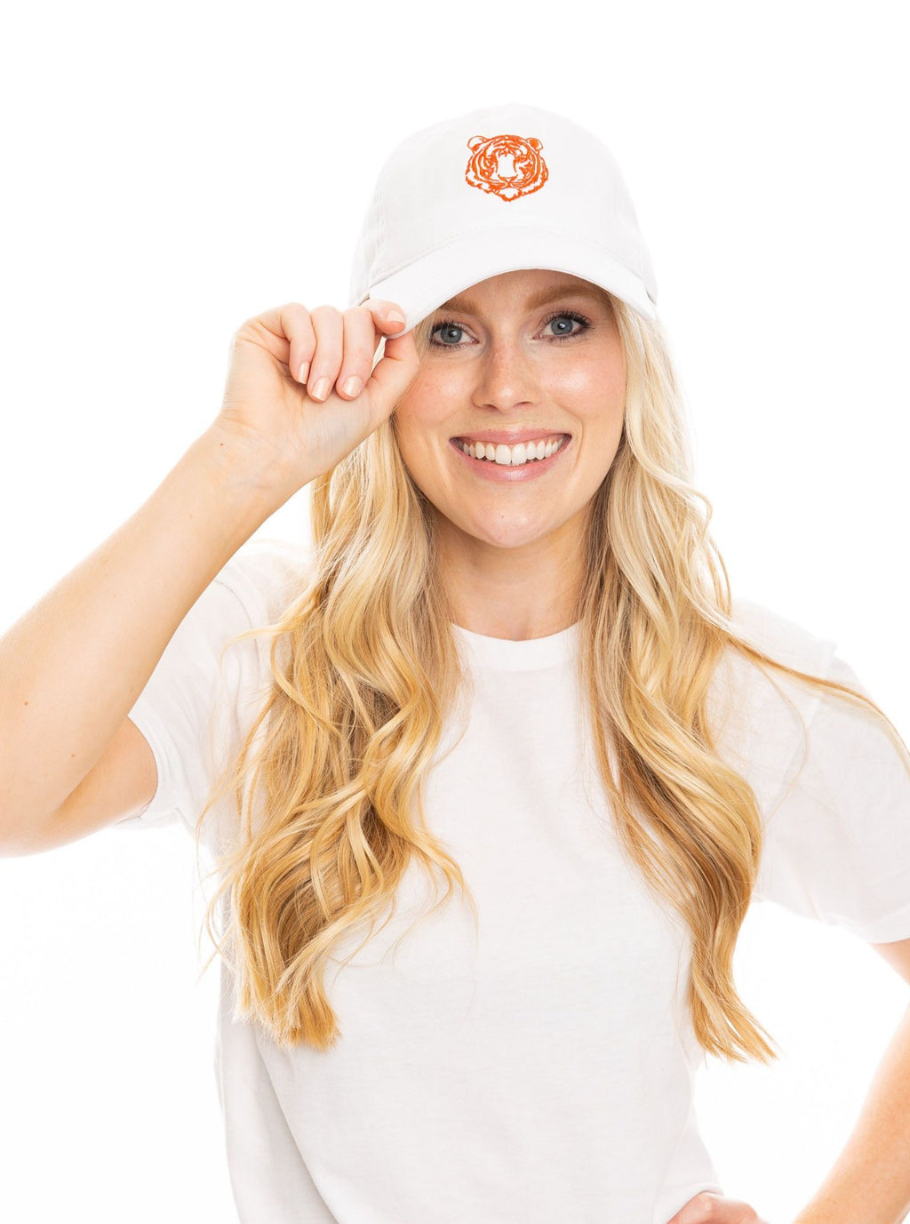 The Tiger Hat | White