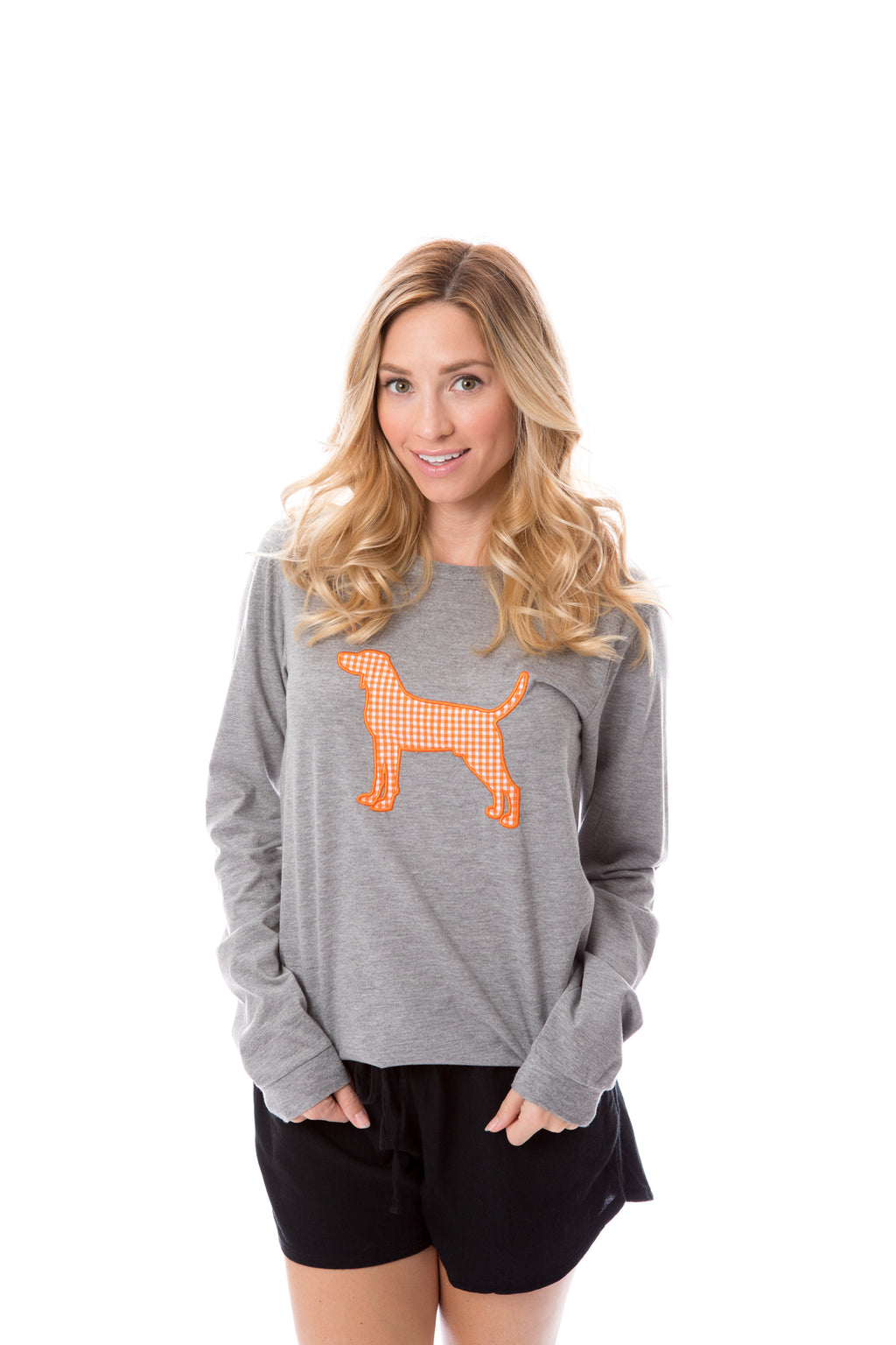 Hound Applique | Long Sleeve