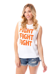 Fight Fight Fight | Tank | Orange