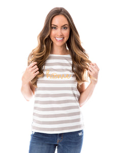 Home | Striped Tee