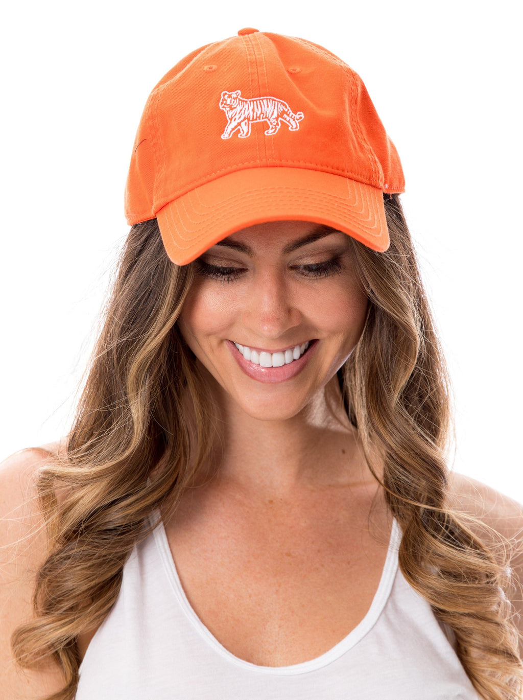 Tiger | 18 Hat | Orange