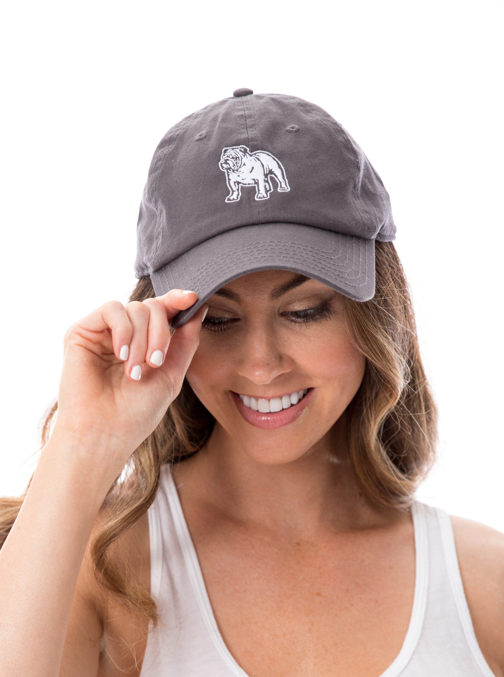 Bulldog | 18 Hat | Charcoal