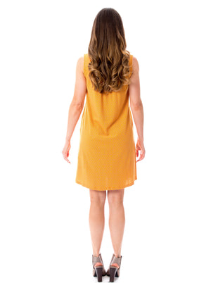 Orange + Gray | 18 Shift Dress