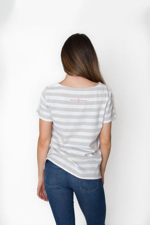Woof | Striped Tee