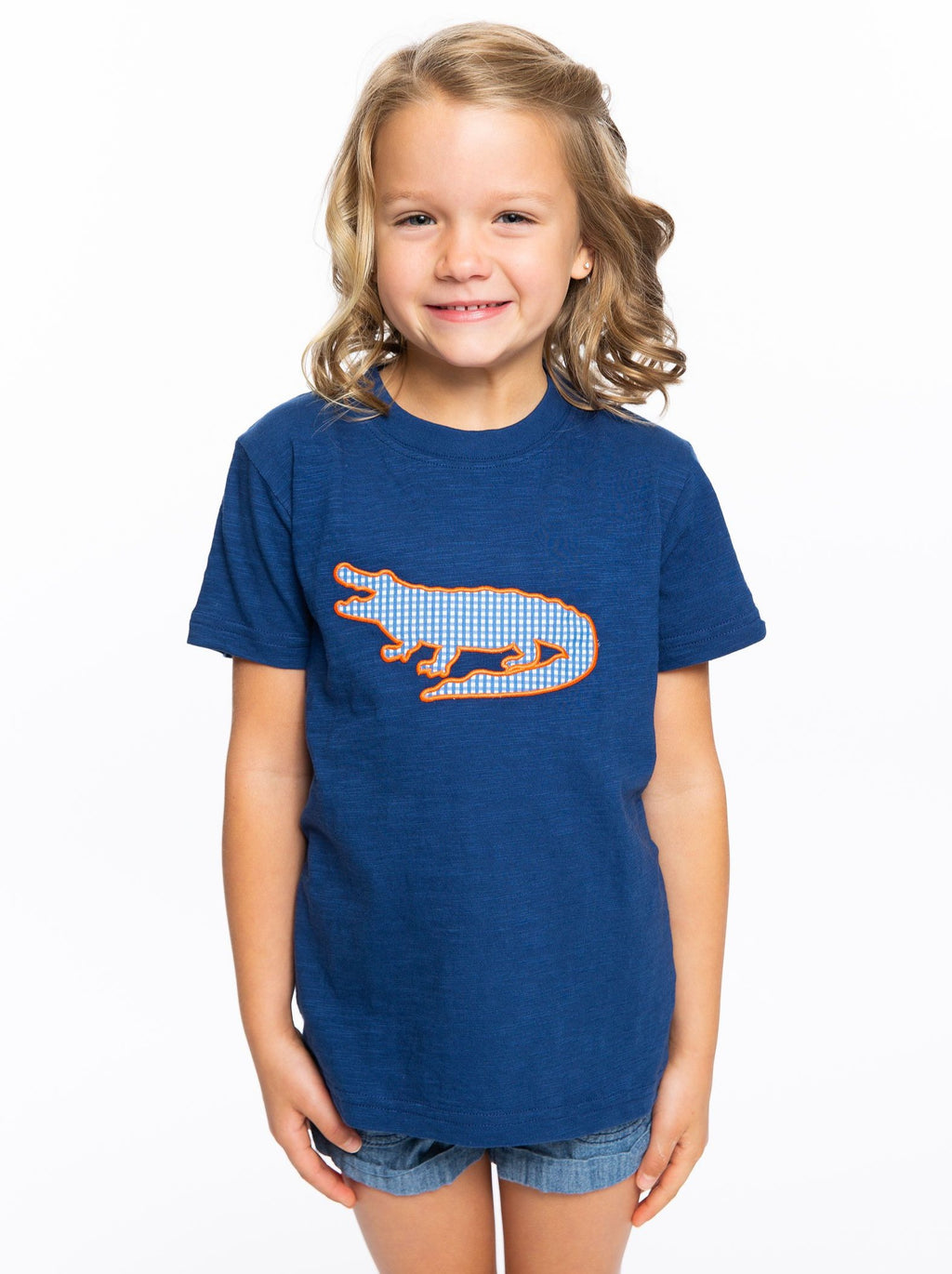Gator Applique | Unisex Childs Tee