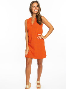 Orange + Purple | Shift Dress