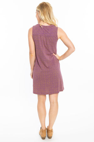 Purple + Gold | 19 Shift Dress