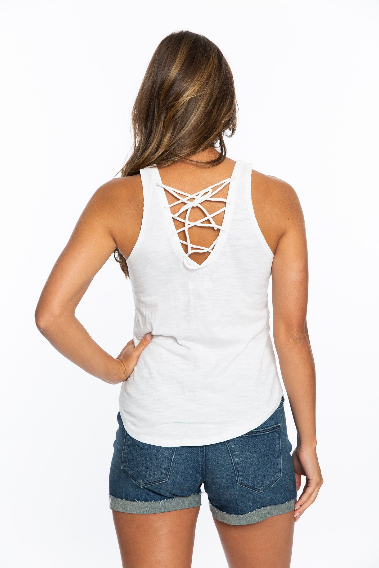 KY | Lace Back Tank