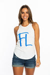 FL | Lace Back Tank