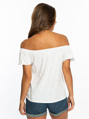 Garnet Florida | Off the Shoulder Top