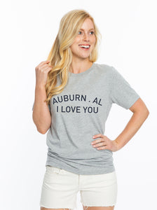 Auburn I Love You | Crew Tee