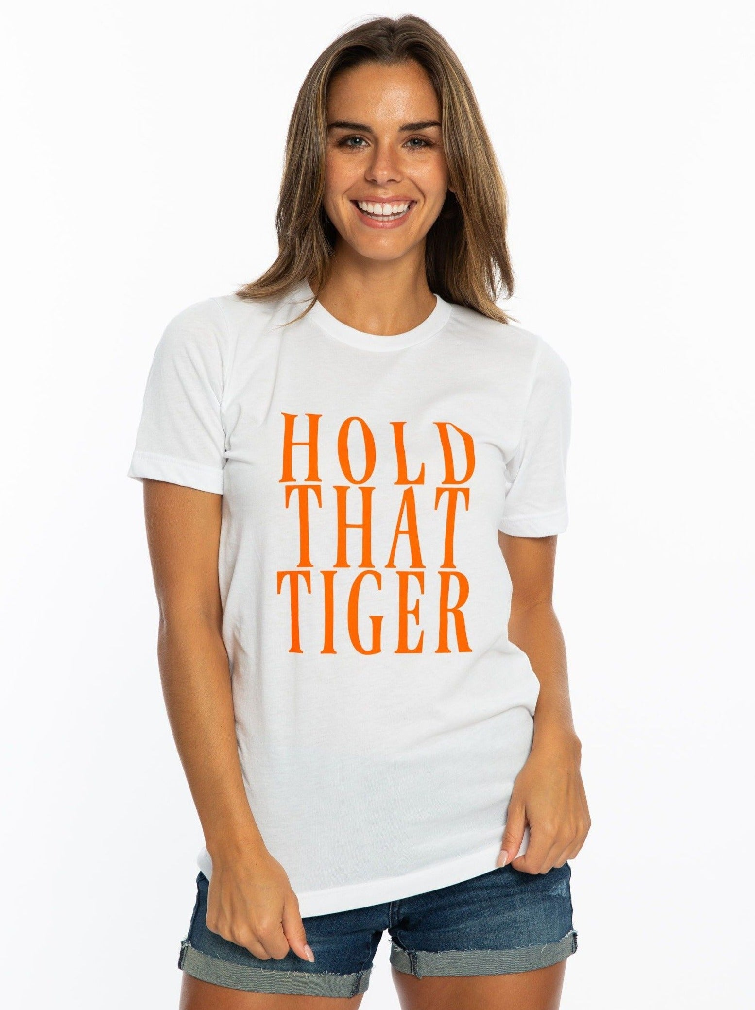 Hold That Tiger | Crew Tee