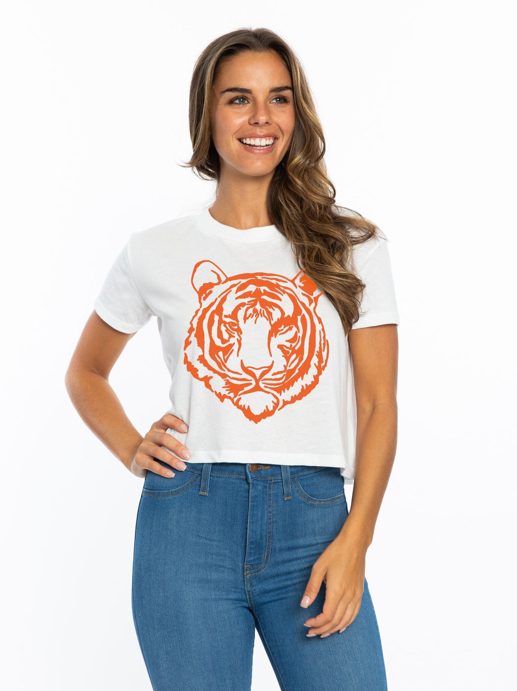 Crop | Orange Tiger
