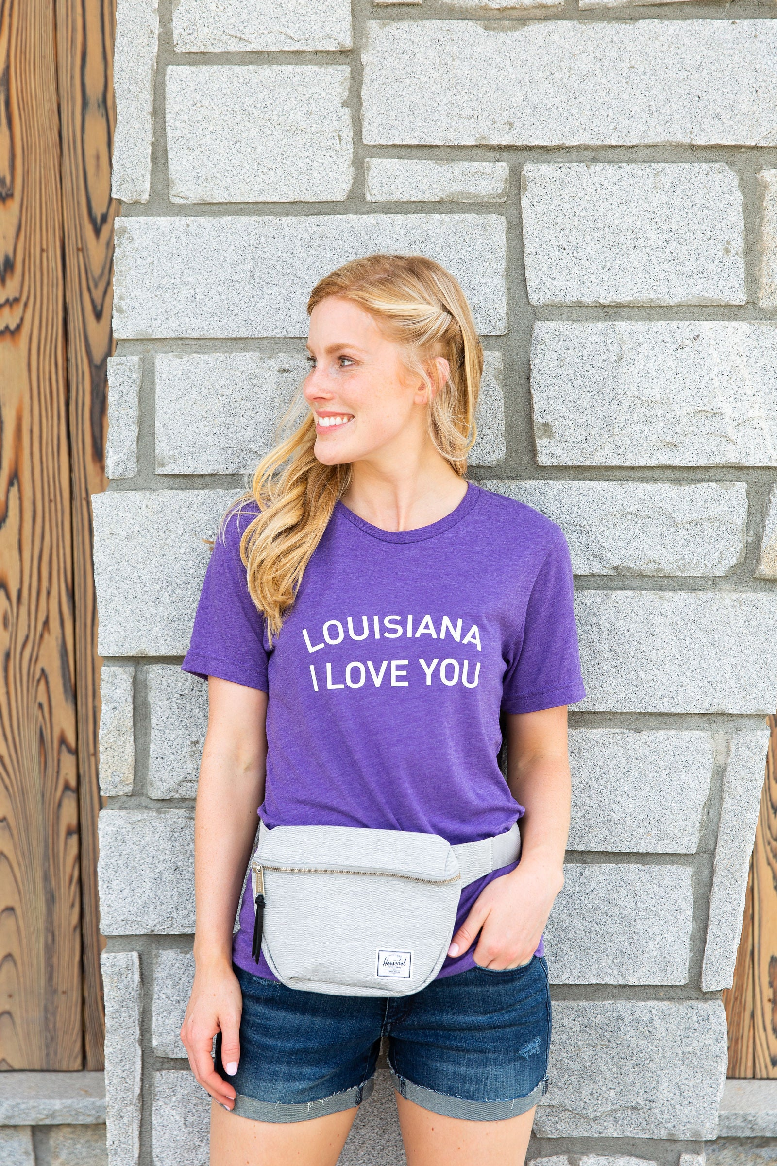 Louisiana I Love You | Crew Tee