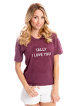 Tally I Love You | Crew Tee