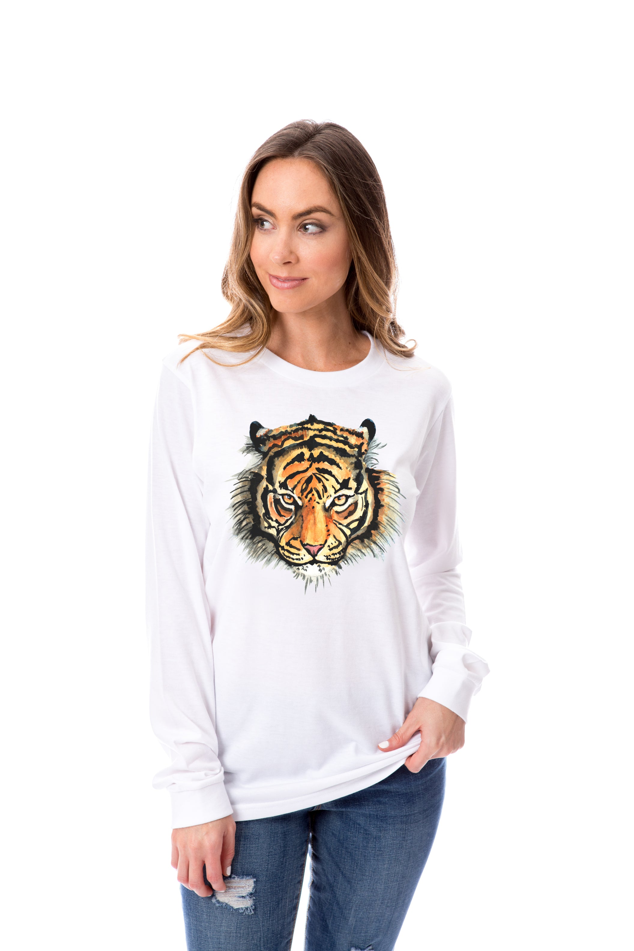 Watercolor Tiger | Long Sleeve