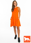 Orange Tigers | Dress