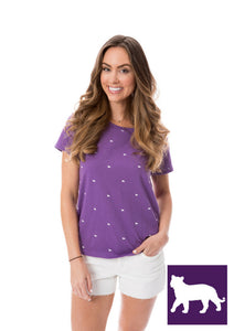 Tigers | Tee | Purple
