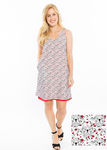 Reversible Dress | Bulldog Print