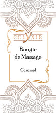 Bougie de massage