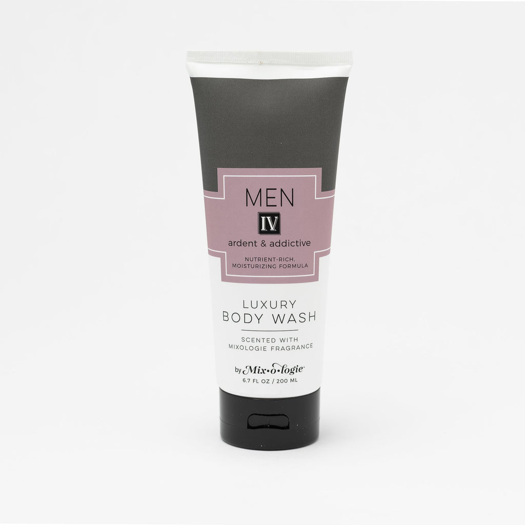 Luxury Body Wash & Shower Gel - Men's IV (ardent and addictive) scent