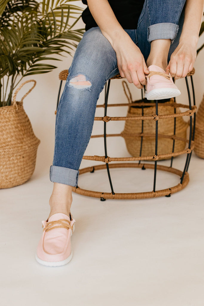 Very G Dolly Sneakers in Blush