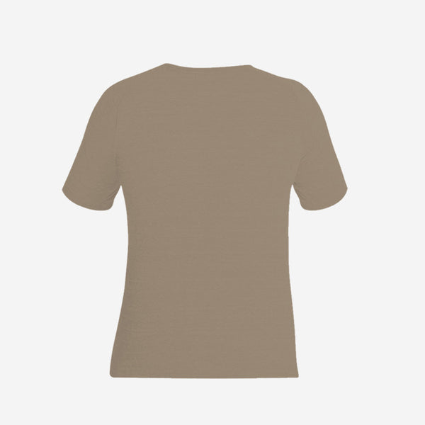 Camiseta Dry Confort Cocal Masculina Bege