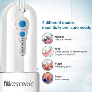 Proscenic Oral Irrigator Water Flosser - proscenic
