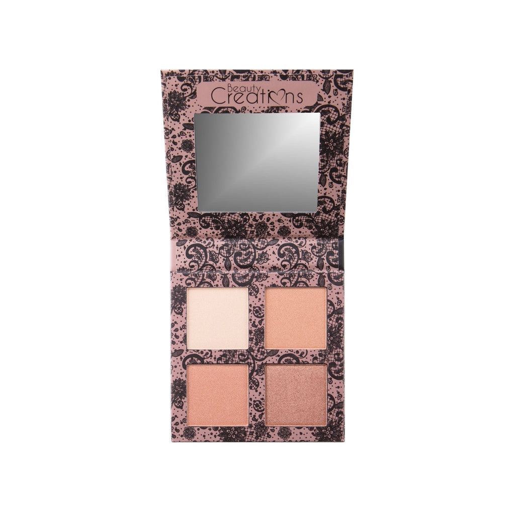 Angel Glow Highlight Palette (Paleta de Iluminadores) - Beauty Creations