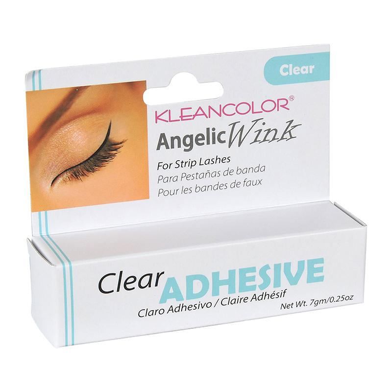 ANGELIC WINK EYELASH ADHESIVE Clear Kleancolor
