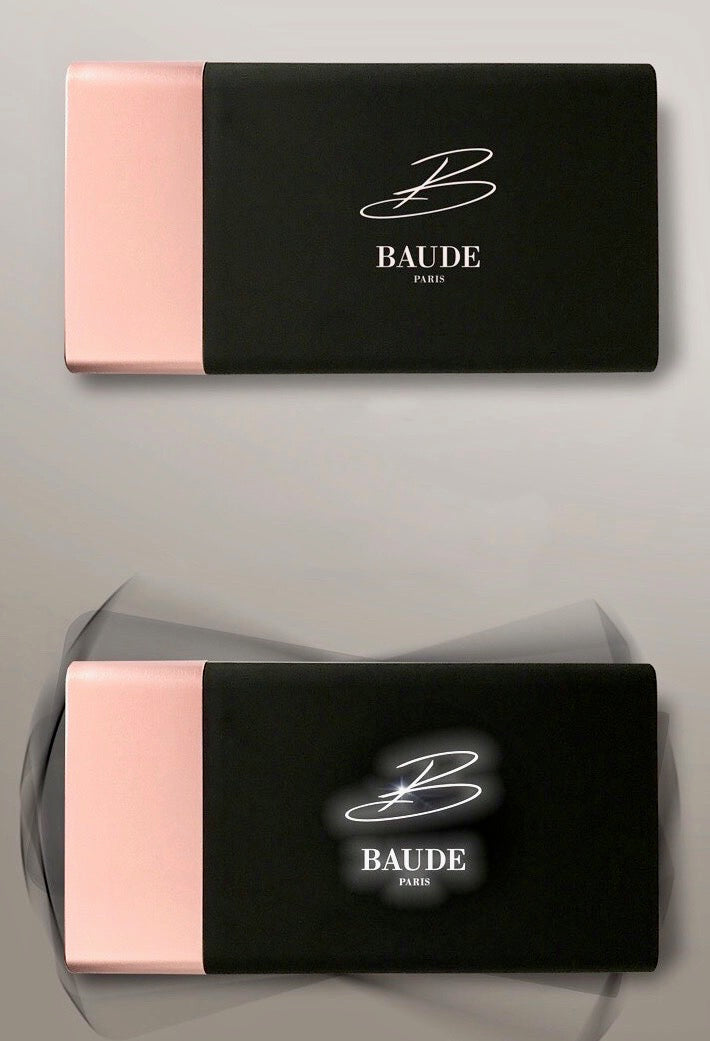 Batterie Externe PowerBank Pink Gold BAUDE PARIS