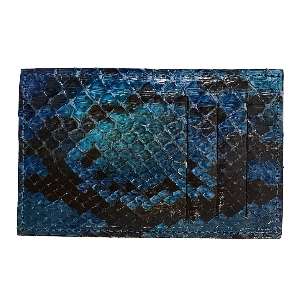 PORTE-CARTES FAVORITEPNY python noir bleu ocean