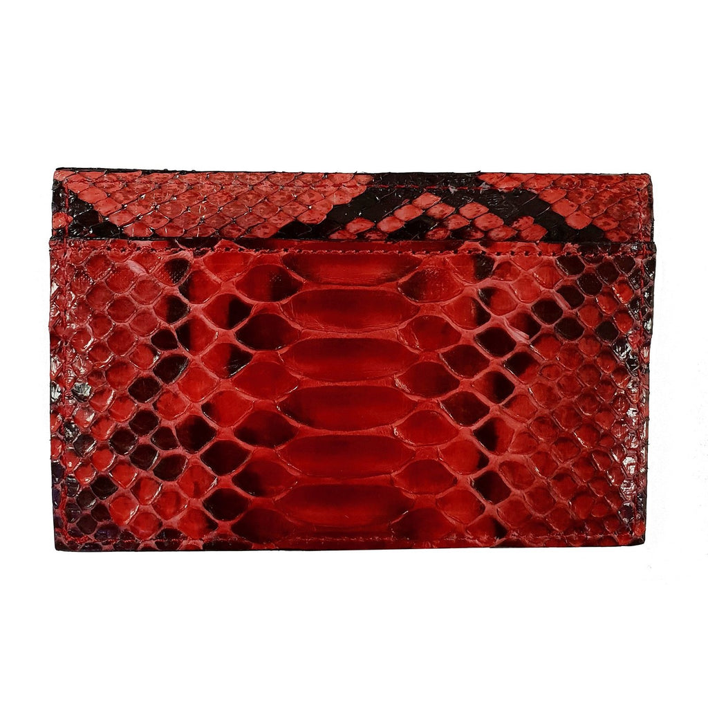 PORTE-CARTES FAVORITEPNY python noir & rouge