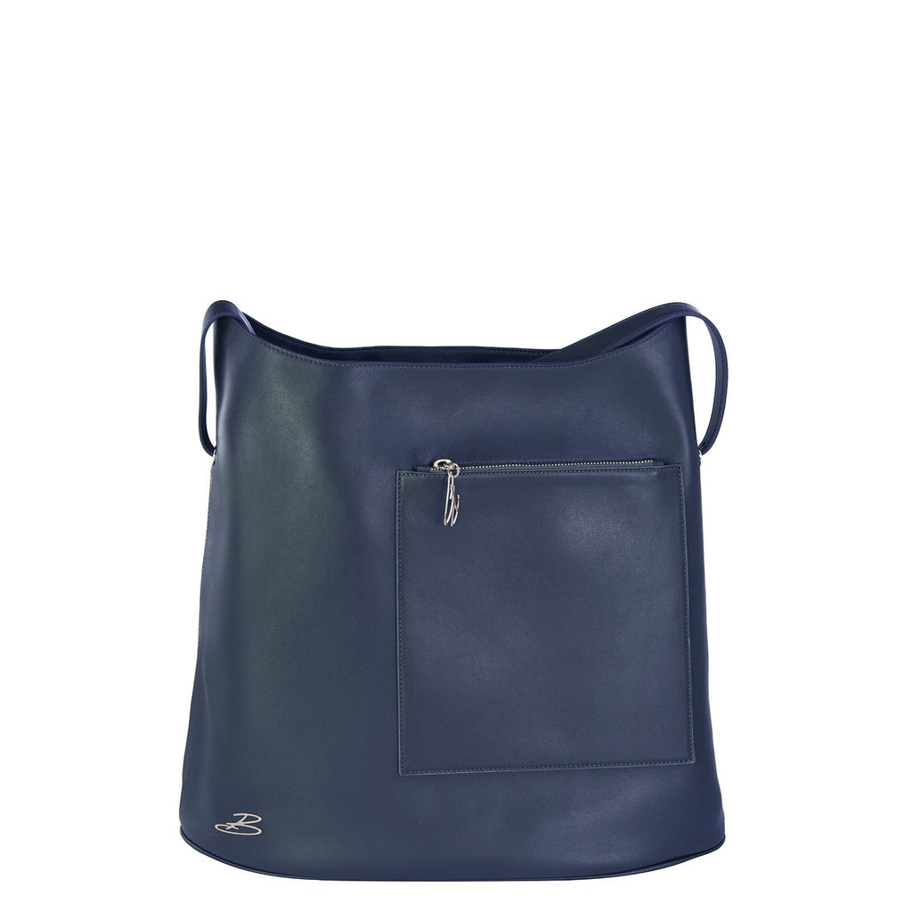 Sac TRAVEL cuir marine