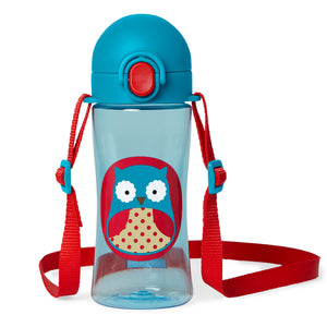 Skip Hop Zoo Lock-Top Sports Bottle (4 Designs)