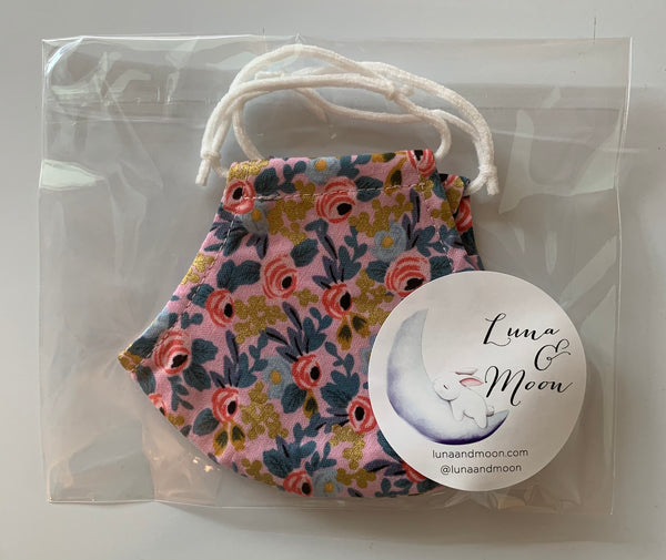 CS Fleurs Fabric Mask (Small)