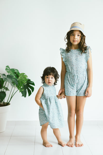 [CNY 2021] Claire Playsuit- Mint Vines