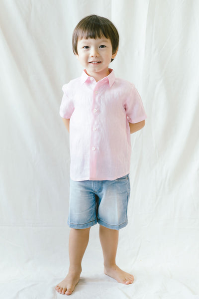 RYAN - Light Pink Linen