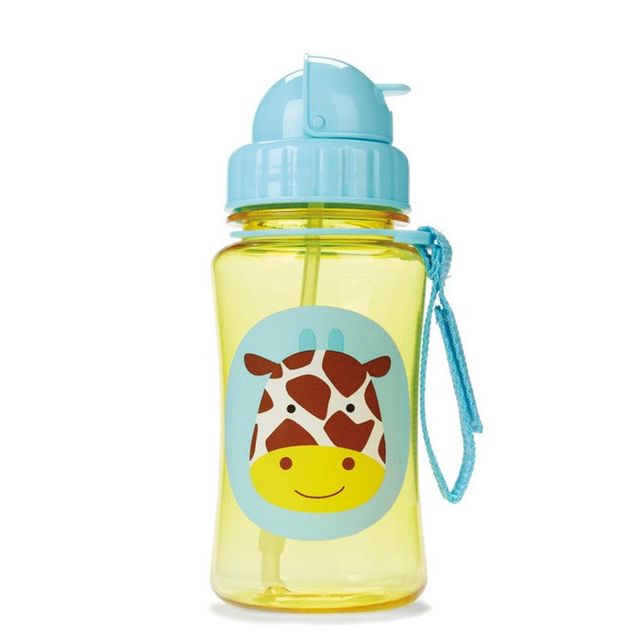 Skip Hop Zoo Straw Bottle (8 Designs)